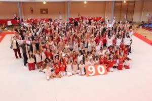 2013 : 90 ans Gassendiana - le club au complet