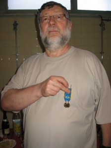 2011: Médaille d'or de la Jeunesse et Sport - Daniel Lefrançois