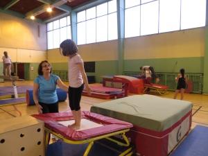 Entraînement Gymnastique artistique poussins