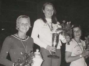 1974: Titre de Dominique DAVID, Championne Fédérale en catégorie Sénior