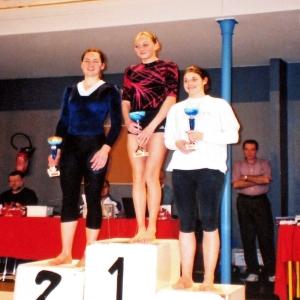2002: Marie LEFRANCOIS remporte les coupes de Paris en catégorie Excellence - Aînées