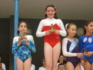2008: Juliette BURKARTH est championne départementale jeunesses - année 1997