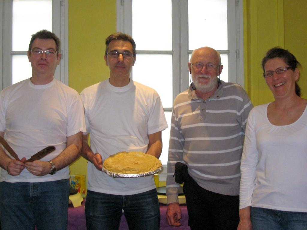 Bénévoles Gassendiana - atelier crêpes