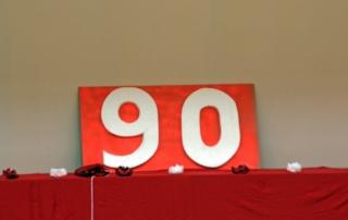 2013 : 90 ans - Décoration 90