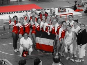2014: Les aînées sont championnes régionales pour la 4ème année consécutive