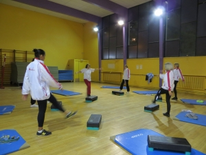 Entraînement gymnastique détente pour adulte