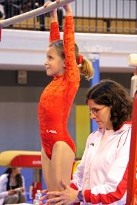 L'entraîneur et sa gymnaste