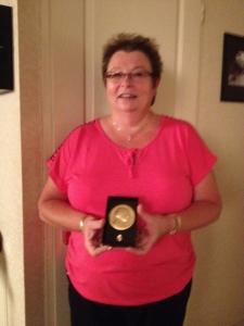 2104 : Médaille Vermeil FSCF - Elisabeth Moricet