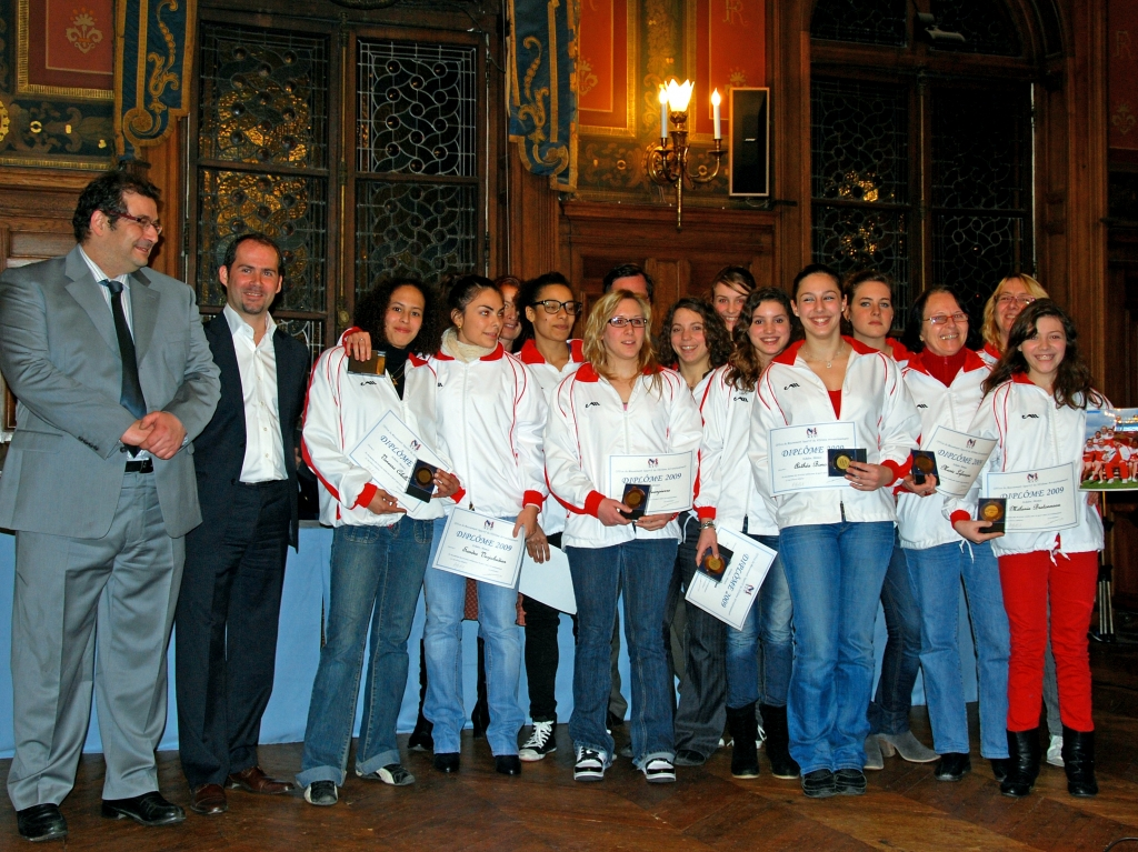 2010 : Médaille OMS de Bronze equipe ainee Gassendiana