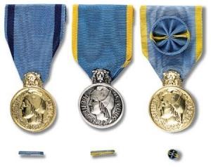 Médailles de la Jeunesse, des Sports et de l'Engagement Associatif