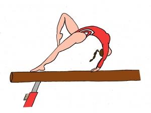 gymnastique artistique Poutre