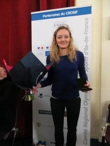 2015 : Médaille d'Argent CROSIF - Marie Lefrançois